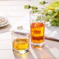 Freezer potável highball tall beber copos de vidros, octagon copo de vidro copo de vidro bebendo de fábrica