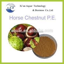 100% Natural Aescin or Escin 20%--98% Horse Chestnut Seed P.E.