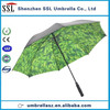30 inch double layer full print golf umbrella natural feeling