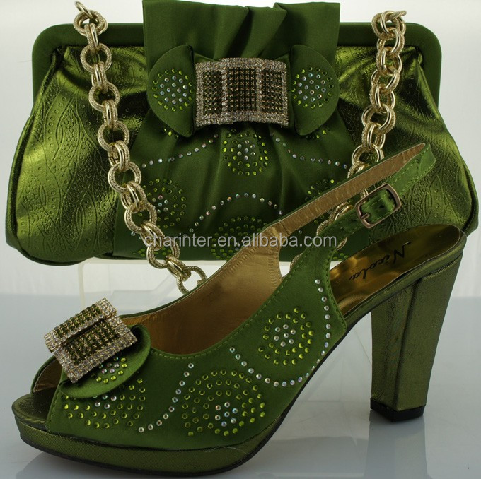 Italian Matching Shoes And Bag/matching Green Shoes And Bags/matching Italian Shoe And Bag Set ...