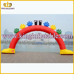 outdoor inflatable advertising arch cheap inflatable red arch