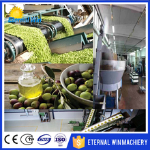 With CE ISO SGS 10T virgin olive oil production line