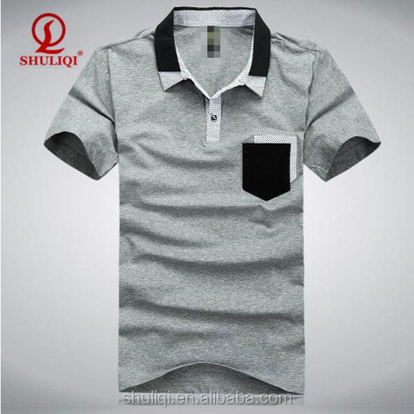 Wholesale latest shirt custom mens embroidery polo shirt for Wholesale polo shirts with embroidery
