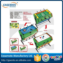 Hot sale Hand football game,table wooden mini soccer football game Wooden Paint multifunction units