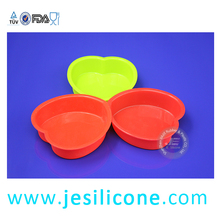 hot selling heart shape silicone ice tray mould/Hi-Q heart shape silicone ice tray mould