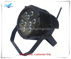 Gaodashang expensive stage lighting 9x10w rgbw 4in1 battery powered waterproof wireless par light