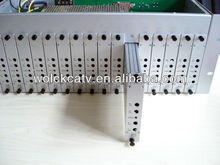 16 in 1 fixed channel with combiner and amplifier catv modulator