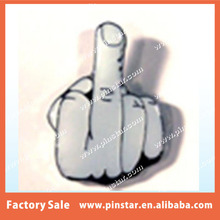 China Wholesale Custom MIDDLE FINGER HAT OR JACKET PIN new jacket lapel metal flip the bird