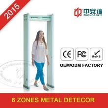 Safety checking door frame metal detector