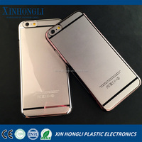 for iphone 6 transparent ultra-thin electroplating PC mobile phone case