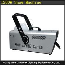 snowmaking machine stage effect 1200w snow making spray high quality good price