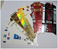 Customized printing paper cigarette case