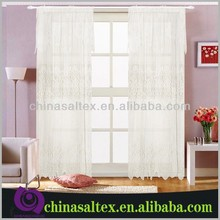 Fashion 100% Polyester lace curtains for Sale