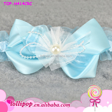 2015 top quality baby hairband lovely chiffon handmade flower infant girls headband