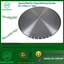 30inch- Laser Welding, Diamond saw blades for construction, concrete, asphalt, steel and others,Wanlong Brand