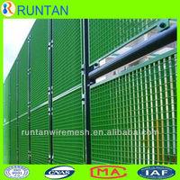 plastic coated steel bar grating panel for fence