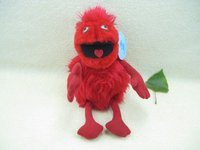 Red Angry big eyes birds plush toys