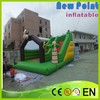 New Point PVC trampoline Inflatable Slip And Slide