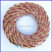 fire control wire cable pvc insulated twisted wire, RVS electric wire cable