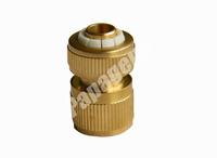 copper small quick connector /brass small hose adapter /brass pipe fitting quick connector with ru