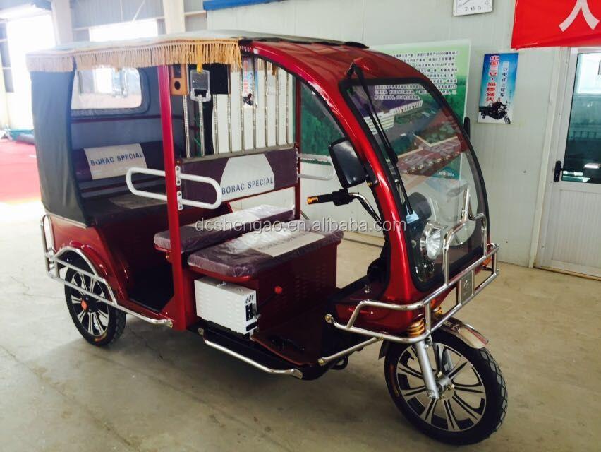 Three wheel motorized rickshaw tricycle buy three wheel for Three wheel motor bike in india