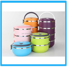 Stainless Steel Stackable Vacuum Thermal Lunch Box