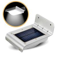 Solar Power Sound Sensor 16 LED Detector Outdoor Security Light Wall Park lamp with sensor motion