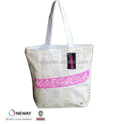 2015 Factory Good Quality Canvas Tote Pouch/Printed Canvas Tote Pouch/Custom Printed Canvas Tote Pouch