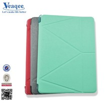 Veaqee new vintage tablet stand leather tablet case for ipad 2 3 4