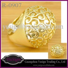 Nigerian Bridal Rings Simple Design Finger Rings R-0907