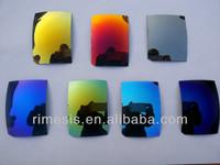 Polarized tac lens laser print logo sunglasses