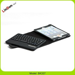 Arabic layout bluetooth keyboard with PU leather case for ipad mini, Arabic keyboard for tablet pc