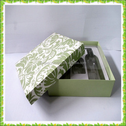 Custom cosmetic box with tray/ cometic box/ cosmetic packaging box in China