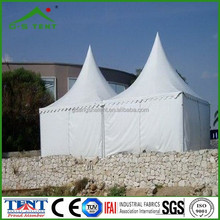 exhibition decoration aluminum frame 6x6 aluminum pagoda tent