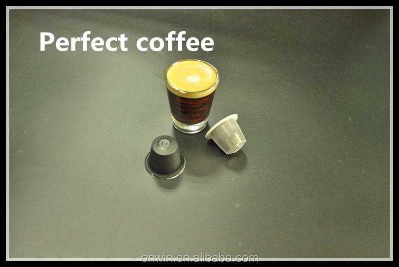 vente en gros vides caf nespresso capsule pour k cup lavazza g lules vides id de produit. Black Bedroom Furniture Sets. Home Design Ideas