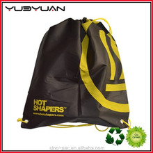 2015 New China Seller Promotional Small Personalized Shoe Mesh Cheap Nylon Drawstring Bag