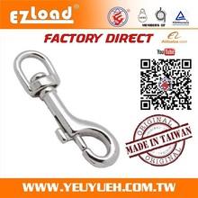 [EZ LOAD] 76 mm Trigger Stainless Steel 316 Swivel Bolt Snap Hook