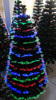 7ft fiber Color Changing Fiber Optic Artificial Christmas Tree with Star Tree Topper