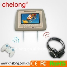 """7"""" Car DVD Player Compatible with DVD/VCD/CD/CD6/MP4/MP3/WMA/JPEG disks (CL-800D)"""
