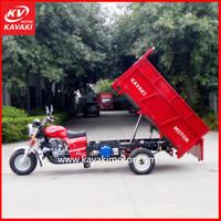 China 3 wheel automatic gear motorcycle cheap farm cargo tractor hydraulic pump dump truck on sale