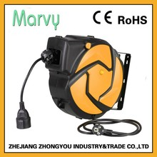 230V pvc coated cord reel wire extension cord cover