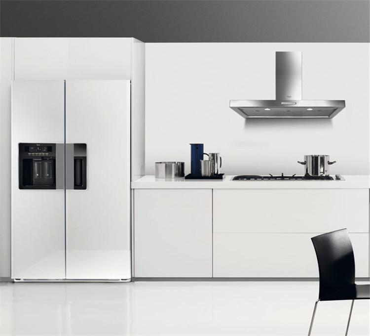 Keuken witte kast - Moderne keukenkast ...