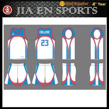 China mainland basketball jersey design china sports clothing manufacturer