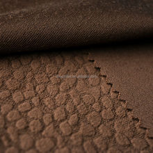 pointed embossed crushed velvet for funiture
