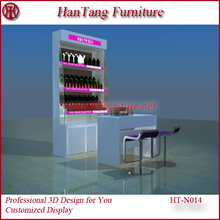 Shopping mall nail shop interior decoration design for sale