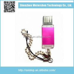 Latest Design USB 2.0 8Gb mini metal usb swivel flash thumb drive singapore