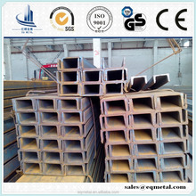 Steel Channel/universal channel steelS235/S355/Q235/Q345/SS400/A36