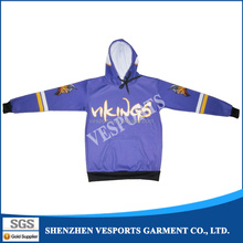 sublimation printed hoodies cool custom sublimation hoodie sweatshirts