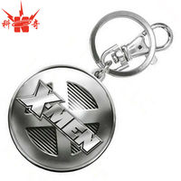 3d Pewter Promotional Metal Key Chain