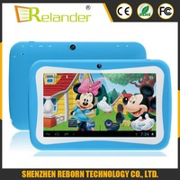 2015 Newest 7 inch tablet Quad core 512MB/ 4GB 1024*600px RK3126 children tablet